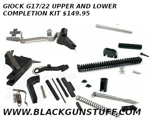 complete glock parts kit $149.95