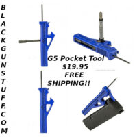 G5 Glock Pocket Tool