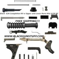 Glock G26 80% kit