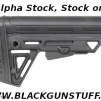The Alpha Stock MK2 is versatile enough to work with any AR build. Featuring a Patented locking system. The Alpha MK2 is easy to install and remove on any Mil-Spec buffer tube. The butt-pad profiles angled to accommodate plate carriers and the aggressive texturing will ensure minimal movement when manipulating the rifle under stress.For your safety, Trinity Force recommends this part be installed by a competent, qualified gunsmith/installer with an understanding of the weapon platform that the part is being installed on. Always make sure the firearm is unloaded and pointed in a safe direction when working.