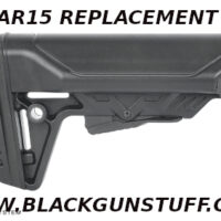 The Cobra Stock MK2 features our own Patented locking system, battery storage compartments, and oversized cheek rest. The Cobra MK2 is easy to install and remove on any Mil-Spec buffer tube. The butt-pad profile is angled to accommodate plate carriers, and the aggressive texturing will ensure minimal movement when manipulating the rifle under stress. With multiple sling points and lightweight snag-free construction, the Cobra fits into most builds with ease.