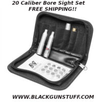 20 Caliber Laser Bore Sight Set