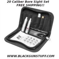 20 Caliber Laser Bore Sight Set